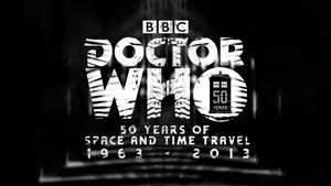 Doctor Who 50th Anniversary Logo Wallpaper by theDoctorWHO2