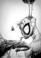 spiderman love venom by Vinz-el-Tabanas