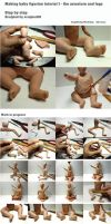 Making baby figurine tutorial 1 by sculptor101