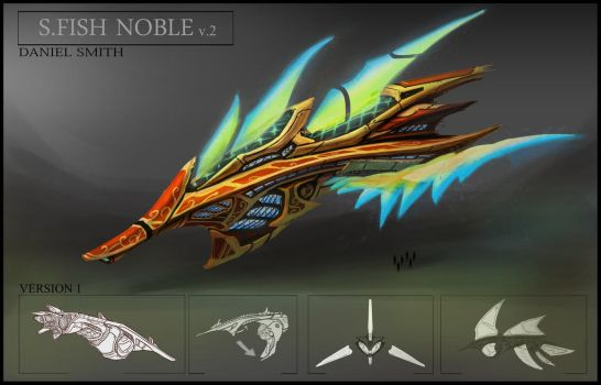 Sword Fish Noble by Mythical-Pixels