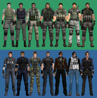 Chris and Leon Evolution 2.0 by efrajoey1