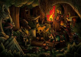 The Fellowship of the Pokemon by hi6sho