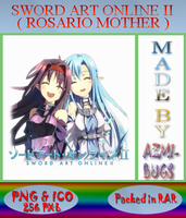 Sword Art Online II Rosario Mother - Anime icon by azmi-bugs