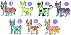$1 Adopts (TWO LEFT)! by Rainy-bleu