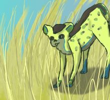 Millgret the Hyena by Little-Volii