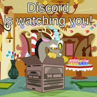Discord Watches You by Aprion