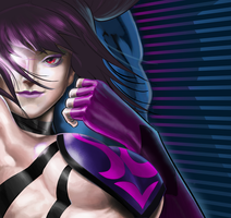 Juri from street fighter 4 by EnriqueNL