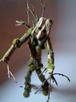 Stop Motion Puppet - Tree by robbyphills