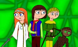 Chronicles Of Prydain fanart by yeagerspace