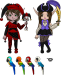 April Monthly Avatar Items by Meowzer2u