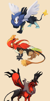 Pokegriffins by Avibroso