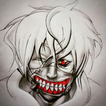 Know your anime... Tokyo Ghoul by tonosf