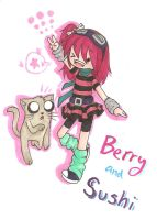AT ocs- Berry and Sushi by MishaChanX