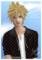 Cloud Strife Smile by Epsilon86