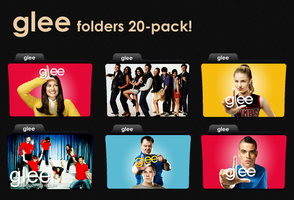 Glee megapack folder icons by skippydippy
