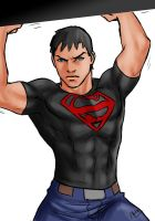 SuperBoy - 00 by Drakyx