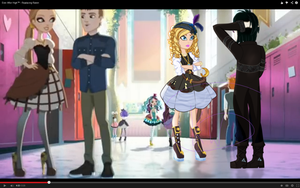 Ever After high fake screen shot by Kings-of-Queens