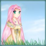 Fluttershy doodle by Lollipon