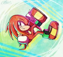 Knuckles by Suncelia