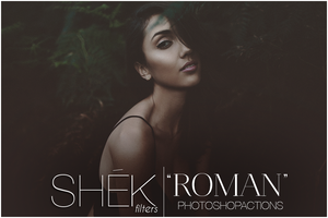 Roman Photoshop Actions | Photo FX by ShekFilters