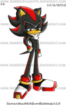 Shadow The Hedgehog Callab macki-17 by bumblebeegirl15