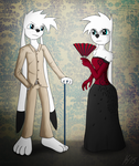 Sir and Lady Dazzle by JPHyperX