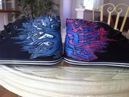 Chelsea Grin Painted Shoes by Imsarahx