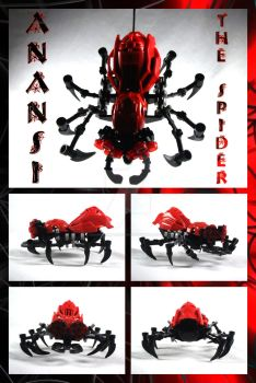 Bionicle MOC: Anansi The Spider by Mana-Ramp-Matoran