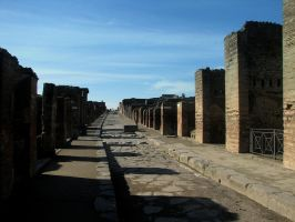 Paths in Pompei by stefanpriscu