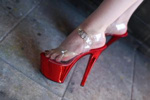 Red Heels by Ariane-Saint-Amour
