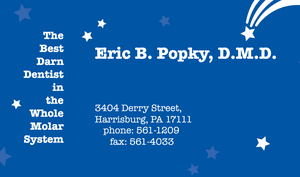 Eric B. Popky Business Card by dragonorion