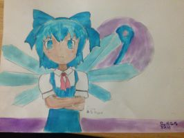 Cirno by SayHiForMe