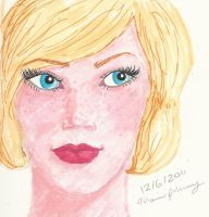 Blonde Flapper Cut by psychoviolinist1012