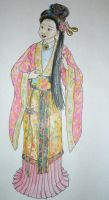 Chinese Doll Colored by Inamkur