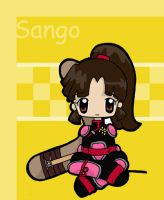 Adorable Sango Demon Slayer by SenseiAlicia