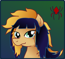 My Little Pony Portrait by Saturdaythe13th