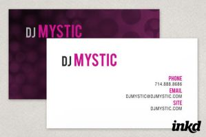 Entertainment Business Card by inkddesign