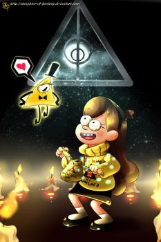 Mabel, the naive girl by Daughter-of-Fantasy