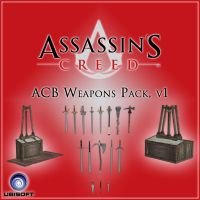ACB: Weapons Pack, v1 by DecanAndersen