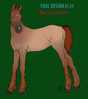 Foal Design ID#39 by SweetStreamStables