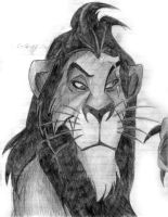 Scar-The Lion King by NiGhT-sTaLkEr13