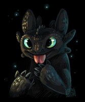 Toothless httyd by griffsnuff