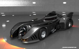 1989 Batmobile 6 by joeliveros