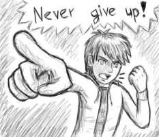 NEVER GIVE UP by SIM0N2