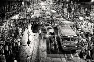 A Busy Street by poraschaudhary