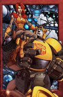 GI Joe-Transformers cover and by diablo2003