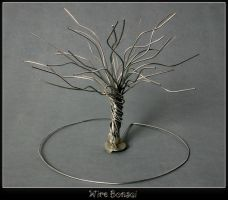 Wire Bonsai by m0rpheus