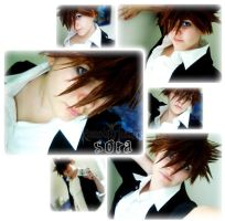 Formal Sora Cosplay by Kikiyaa