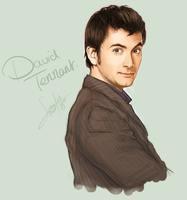 David Tennant. Dr Who. by nebulAeva