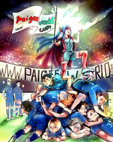 Haikyuu x PaigeeWorld : World Cup 2014 by Shumijin
